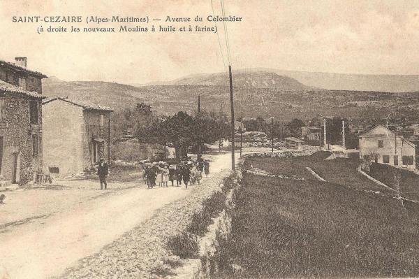 Route de St Vallier