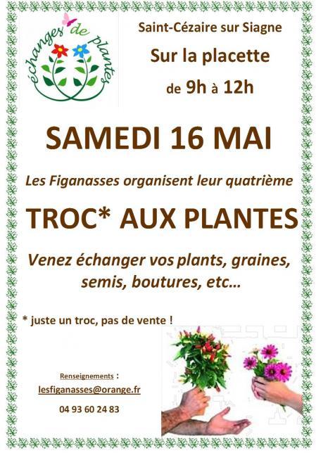 Troc aux plantes 2015 affiche